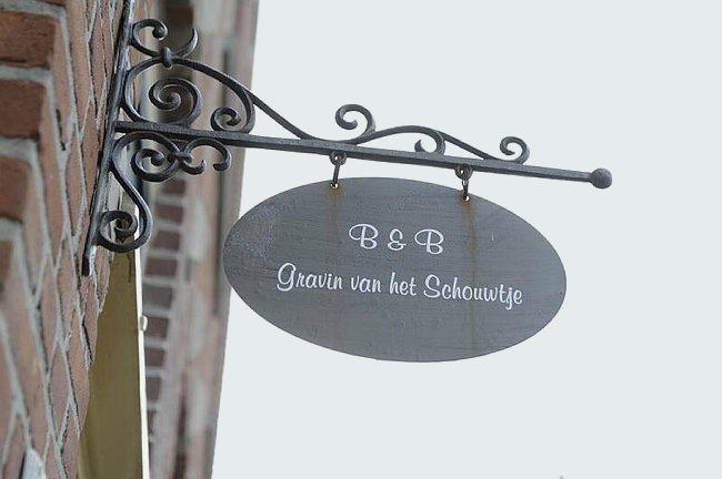 Bed and Breakfast Gravin van het Schouwtje te Haarlem